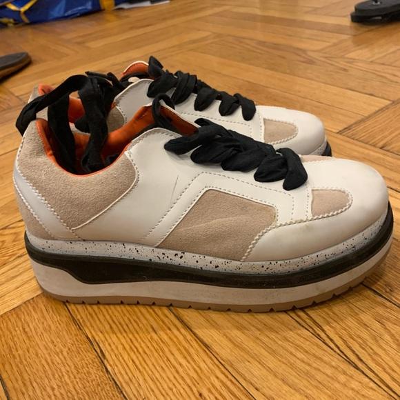ZARA platform sneaker
